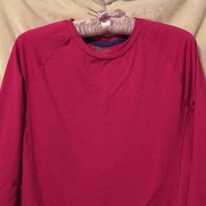 Hot Pink Layer 8 Sport Top